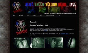 Blue Green Yellow Dead