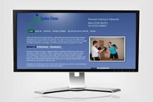 Epsilon Fitness Website Design