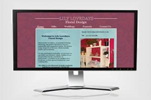 Lily Lovedays Website Design