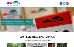 The Biffa Award Website